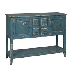 RENEW Sidetable 'Valon' kleur blauw