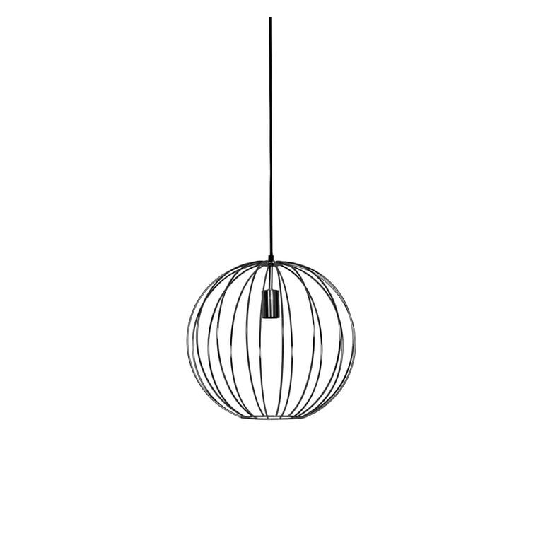 Light & Living Hanglamp 'Suden' 40cm, kleur Mat Zwart