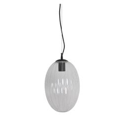 Light & Living Hanglamp 'Jenny' 23cm, glas transparant
