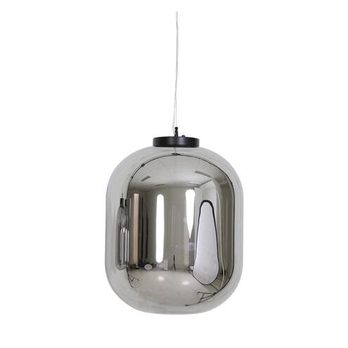 Light & Living Hanglamp 'Julia' 44cm, glas smoke