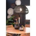 Light & Living Hanglamp 'Evelie' 50.5cm, rotan zwart