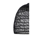 Light & Living Hanglamp 'Evelie' 53cm, rotan zwart