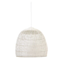 Light & Living Hanglamp 'Evelie' 53cm, rotan wit