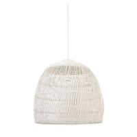 Light & Living Hanglamp 'Evelie' 53cm, rotan wit