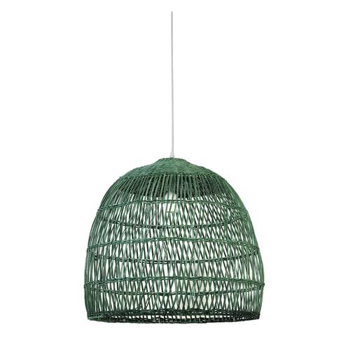 Light & Living Hanglamp 'Evelie' 53cm, rotan groen