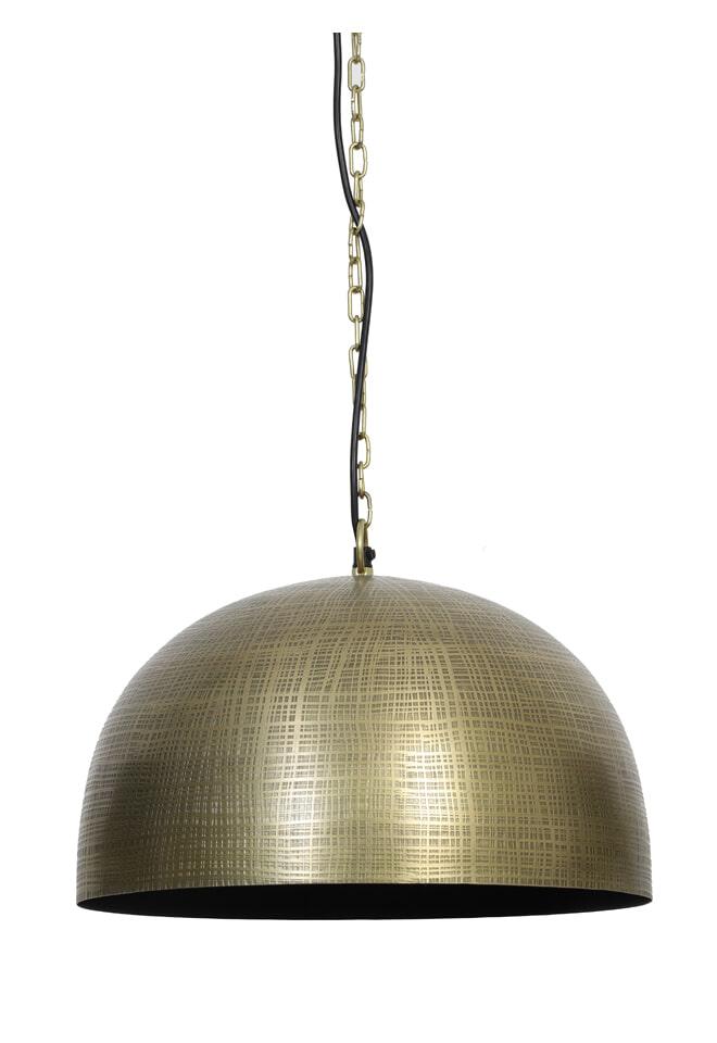 Light & Living Hanglamp 'Paulize' 42cm, kleur Antiek Brons