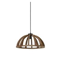 Light & Living Hanglamp 'Eliseo' 47cm, hout bruin-antiek zwart