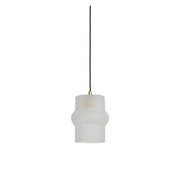 Light & Living Hanglamp 'Yalisa' 21cm, glas frosted-goud