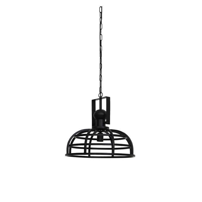 Light & Living Hanglamp 'Avalon' 45cm, mat zwart