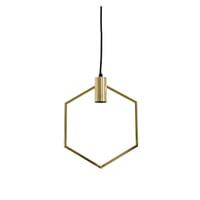 Light & Living Hanglamp 'Aina', goud