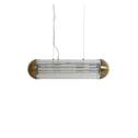 Light & Living Hanglamp 'Grayson' 20cm, brons+transparant