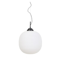 Light & Living Hanglamp 'Milkey' 40cm, glas wit