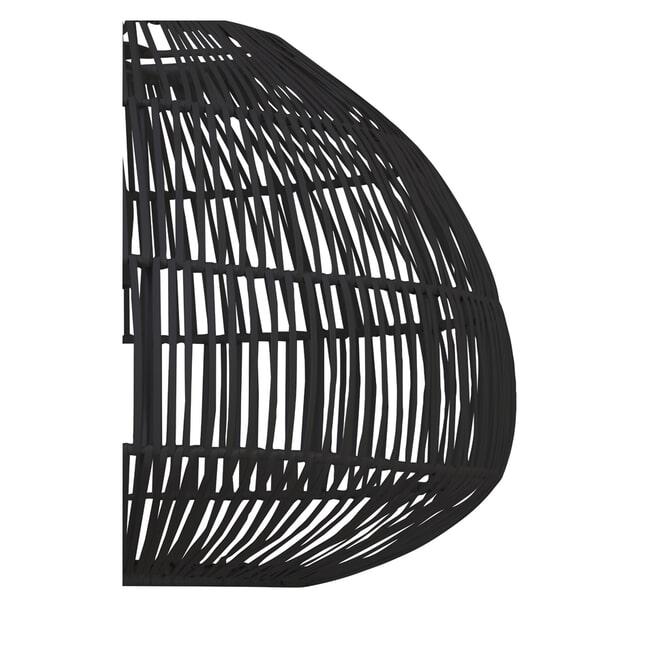 Light & Living Hanglamp 'Temari' 57cm, mat zwart