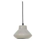 Light & Living Hanglamp 'Sarina' 23cm, keramiek grijs