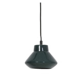 Light & Living Hanglamp 'Sarina' 23cm, keramiek glanzend donker groen, kleur Donkergroen