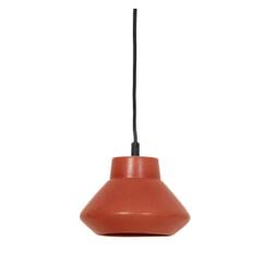 Light & Living Hanglamp 'Sarina' 23cm, keramiek mat terra