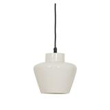 Light & Living Hanglamp 'Souma' 24cm, keramiek glanzend wit