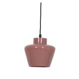 Light & Living Hanglamp 'Souma' 24cm, keramiek glanzend oud roze