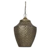 Light & Living Hanglamp 'Selna' 36.5cm, kleur Goud