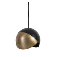 Light & Living Hanglamp 'Namco' 25cm, antiek brons-mat zwart