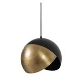 Light & Living Hanglamp 'Namco' 30cm, antiek brons-mat zwart
