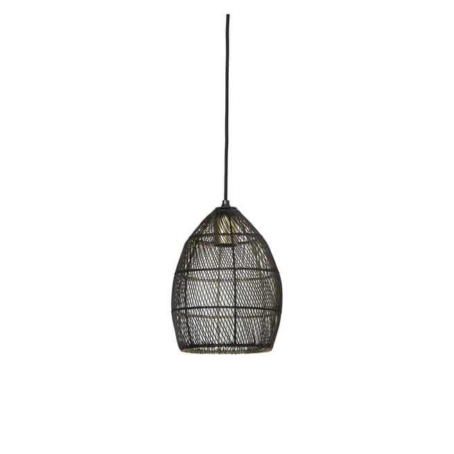 Light & Living Hanglamp 'Meya' 20cm, kleur Zwart