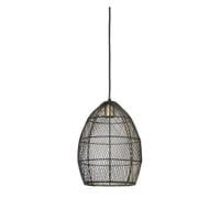 Light & Living Hanglamp 'Meya' 23cm, zwart-goud