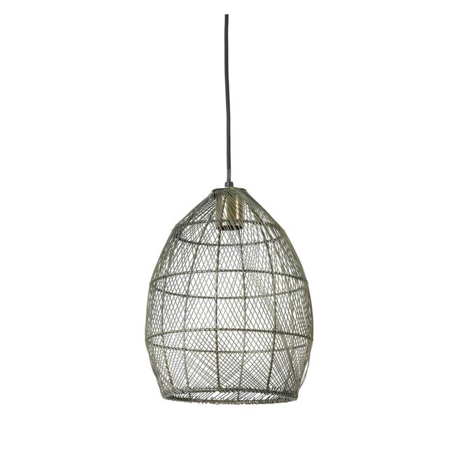 Light & Living Hanglamp 'Meya' 23cm, kleur Antiek Brons