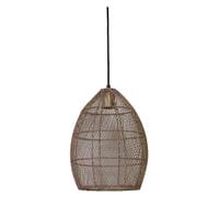 Light & Living Hanglamp 'Meya' 23cm, oud roze-goud