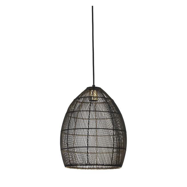 Light & Living Hanglamp 'Meya' 30cm, kleur Zwart