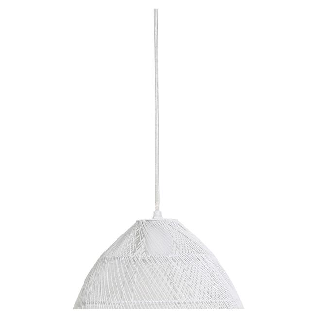 Light & Living Hanglamp 'Meya' 30cm, wit