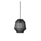Light & Living Hanglamp 'Vitora' 26cm, kleur Mat Zwart