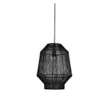 Light & Living Hanglamp 'Vitora' 30cm, mat zwart