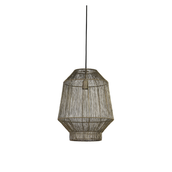 Light & Living Hanglamp 'Vitora' kleur Antiek Brons
