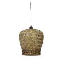 Light & Living Hanglamp 'Mikki' 34cm, rotan naturel