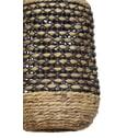 Light & Living Hanglamp 'Tripoli' 37.5cm, rotan naturel+zwart