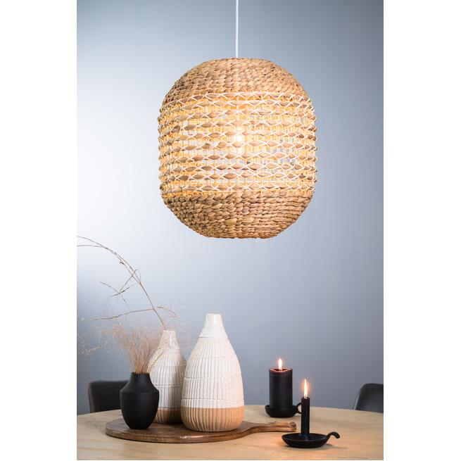 Light & Living Hanglamp 'Tripoli' kleur Naturel