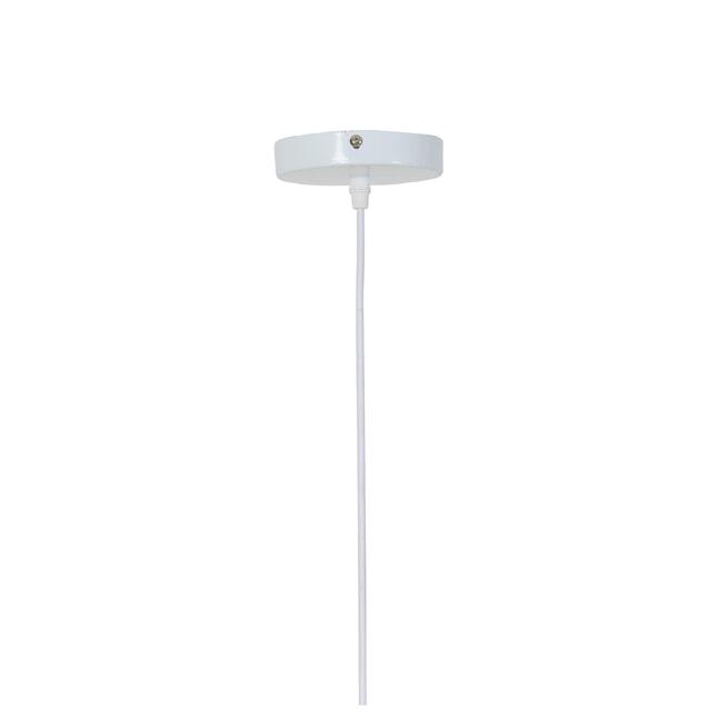Light & Living Hanglamp 'Tripoli' 60cm, rotan naturel+wit