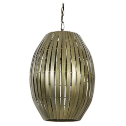 Light & Living Hanglamp 'Kyomi' 34cm, antiek brons