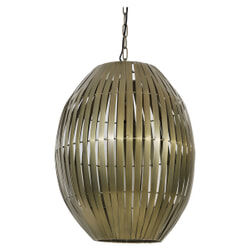 Light & Living Hanglamp 'Kyomi' 42cm, antiek brons
