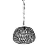 Light & Living Hanglamp 'Alwina' 40cm, kleur Mat Zwart