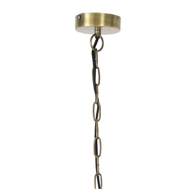 Light & Living Hanglamp 'Alwina' kleur brons