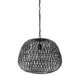 Light & Living Hanglamp 'Alwina' 50cm, kleur Mat Zwart