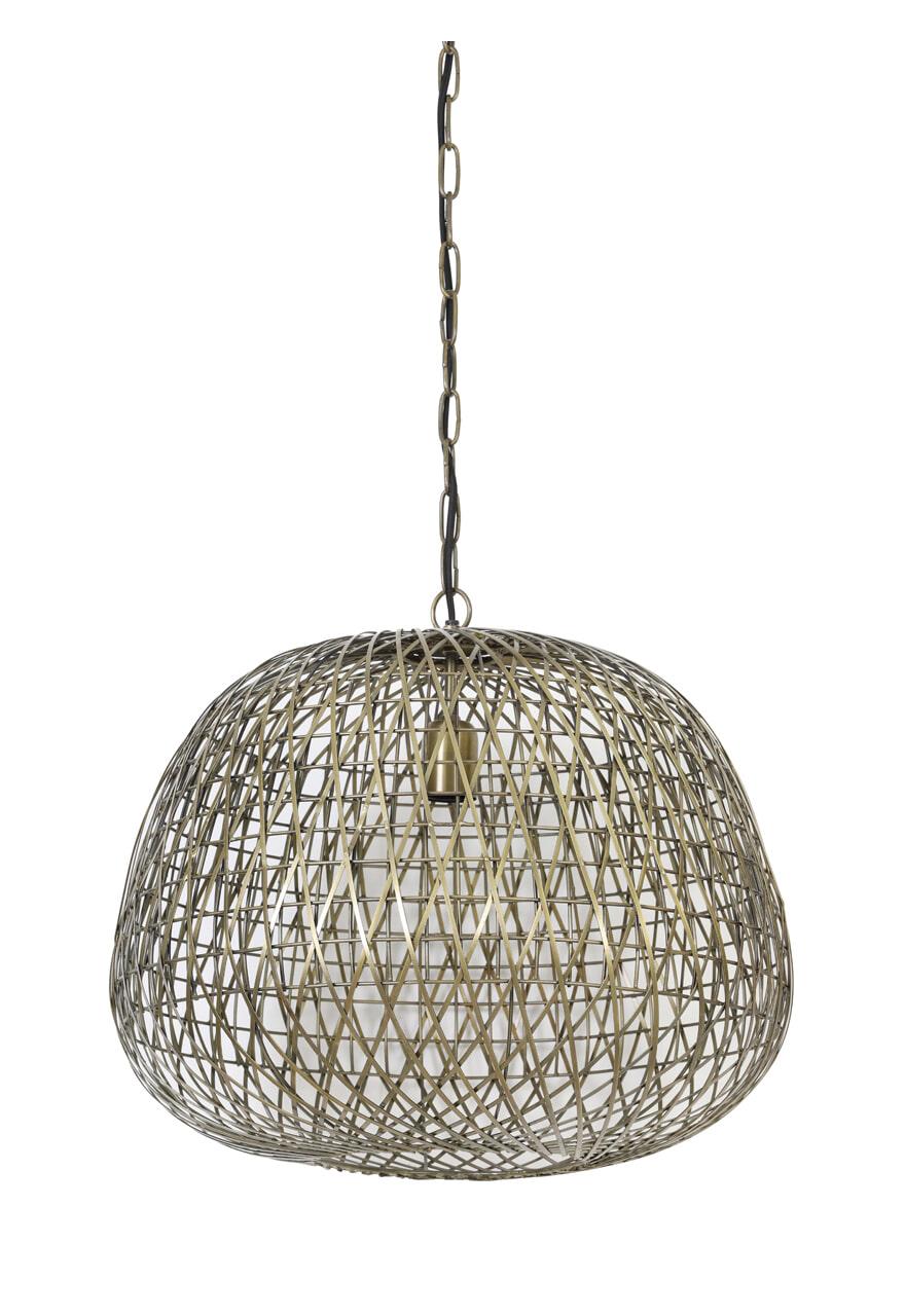 Light & Living Hanglamp 'Alwina' 50cm, kleur Antiek Brons