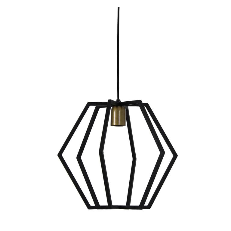 Light & Living Hanglamp 'Bresca' kleur Mat Zwart