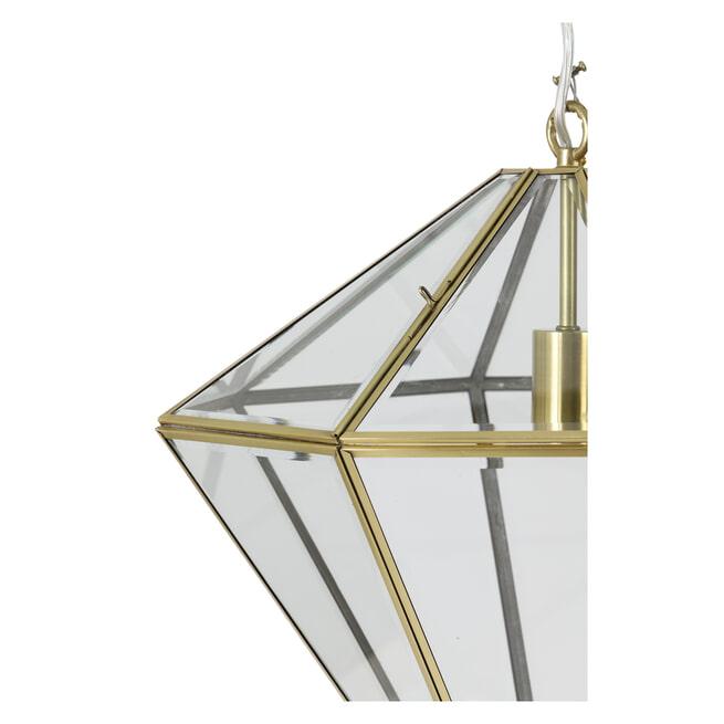 Light & Living Hanglamp 'Xaya' kleur brons