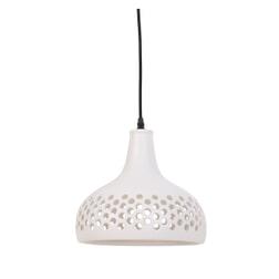 vtwonen Hanglamp 'Mercurius' 27cm, keramiek zacht wit