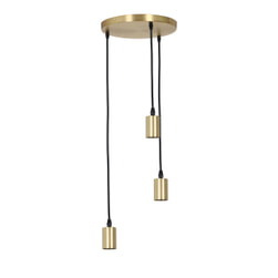 Light & Living Hanglamp 'Brandon' 3-Lamps, antiek brons