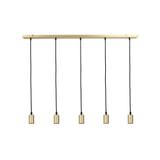 Light & Living Hanglamp 'Brandon' 5-Lamps, kleur Brons
