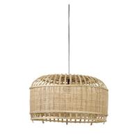 Light & Living Hanglamp 'Dalika' 49cm, bamboe